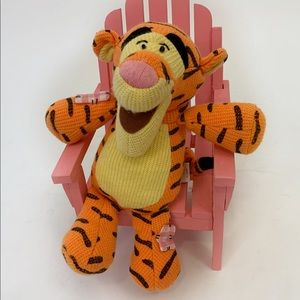 Patchwork Tigger Disney Winnie Pooh stuffed animal